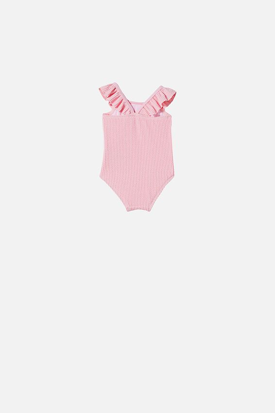 Lolita Frill Swimsuit, CALI PINK