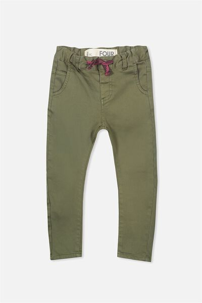 Joseph Slouch Pant, CLIVE GREEN