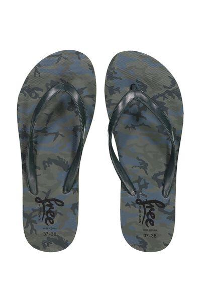 Free Flip Flops, B CAMO