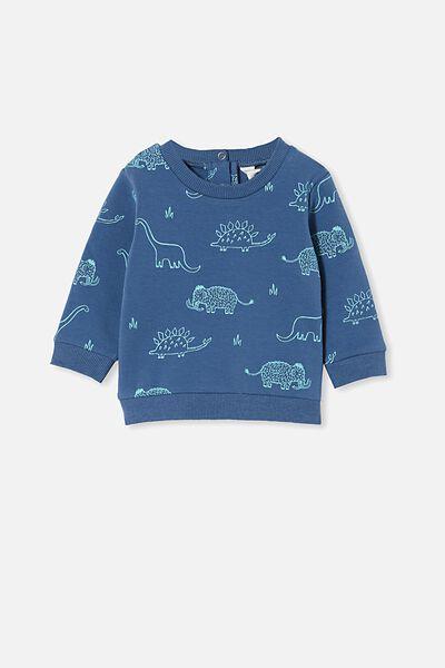 Bobbi Sweater, PETTY BLUE/DINO MAMMOTH