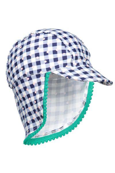 Nb Sonny Hat, PEACOAT/SPOTTY GINGHAM