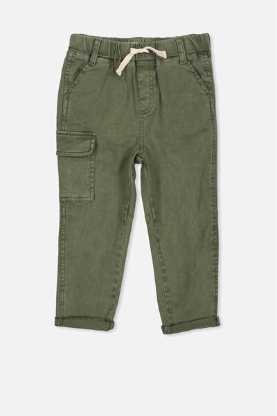 Tyler Cargo Pant, ARMY GREEN