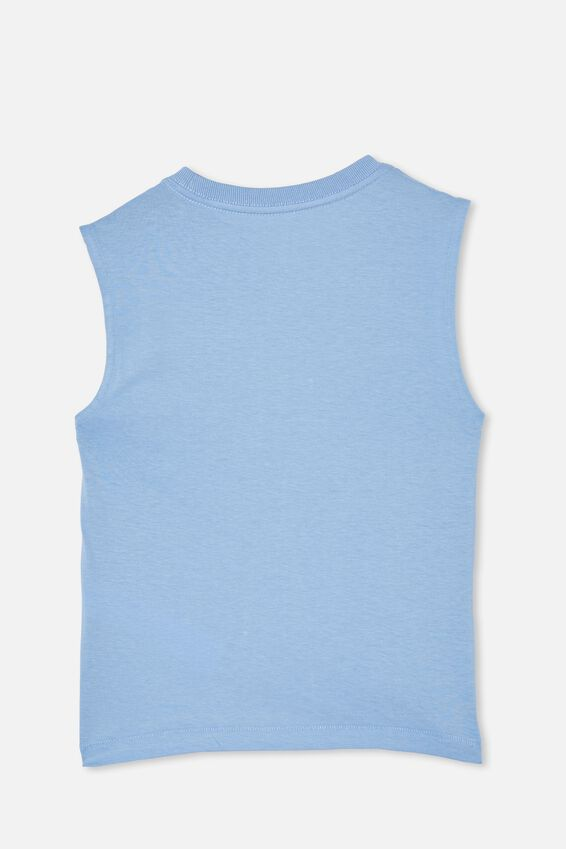 Otis Muscle Tank, DUSK BLUE/CRAB