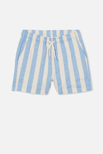 Henry Slouch Short 60/40, CANDY STRIPE/DUSK BLUE