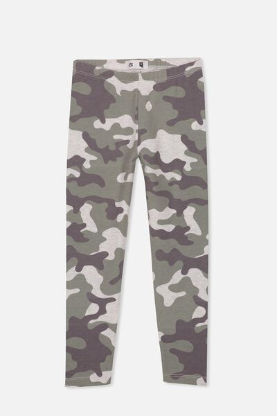 Huggie Tights, OAT MARLE/CAMO