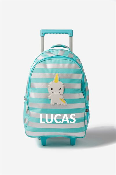 Sunny Buddy Wheelie Suitcase Personalised, JACK