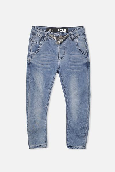Joseph Slouch Pant, MELROSE DISTRESSED BLUE