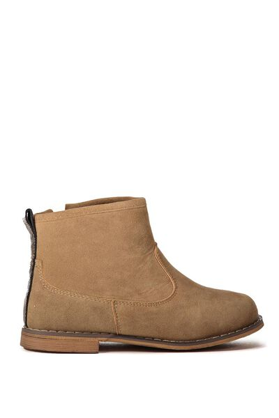 Phoebe Ankle Boot, TAN