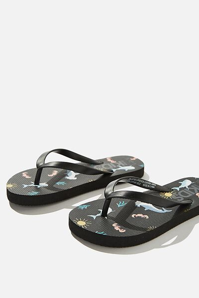 Printed Flip Flops, PHANTOM SHARKS