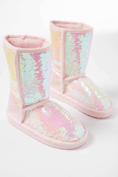 Sleepy Homeboot, IRIDESCENT SEQUINS