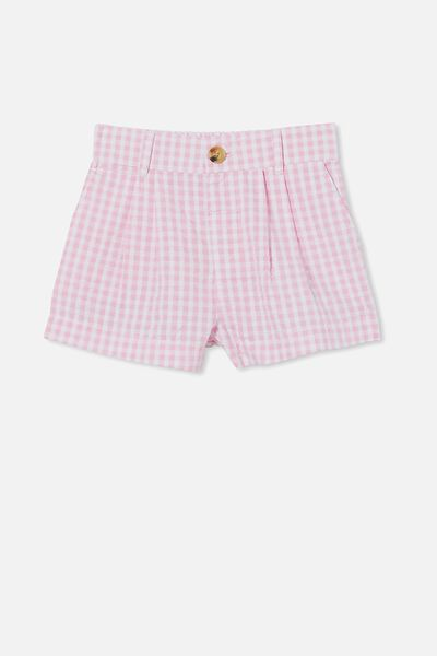 Cassidy Short, CALI PINK MINI GINGHAM