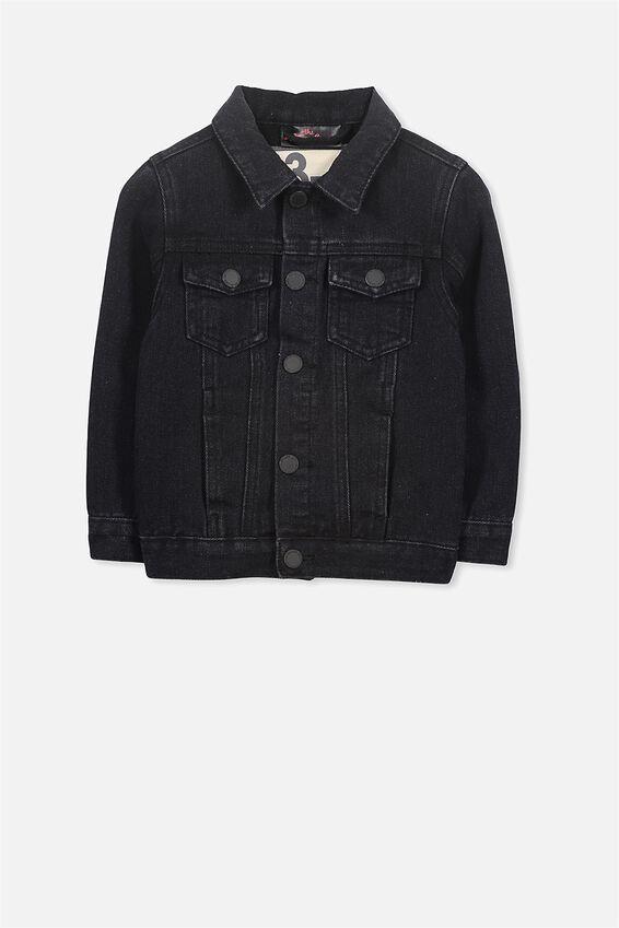 License Denim Jacket | Tuggl