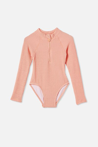 Lydia Rib One Piece, MUSK MELON