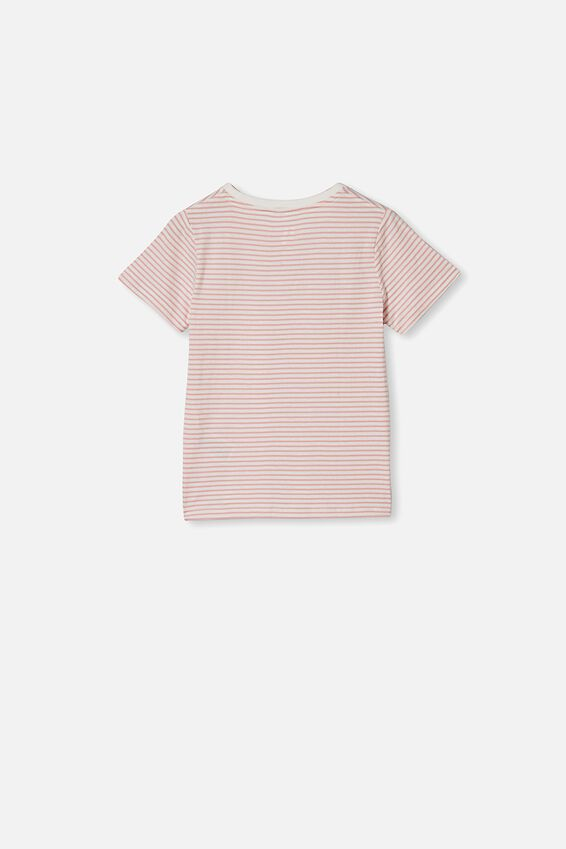 Penelope Short Sleeve Tee, ZEPHYR STRIPE/NEW YORK