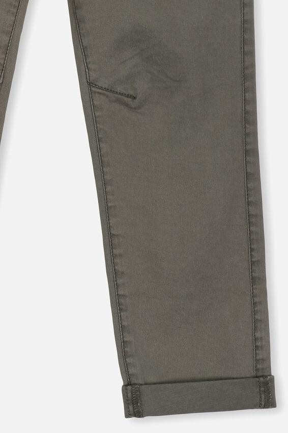 Roller Chino Pants, BEATLE GREEN