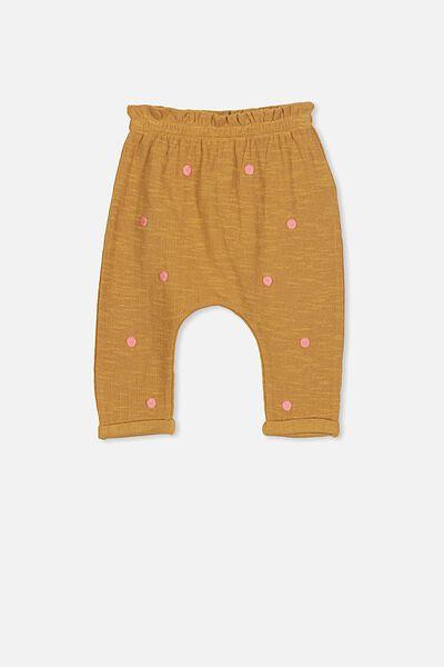 Alison Mini Pant, BURNT BISCUIT/WILDFLOWER PINK SPOTS