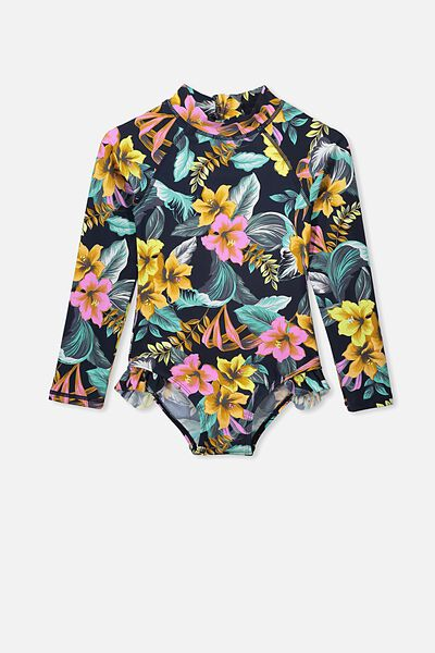 Lydia One Piece, TROPICAL FLORAL