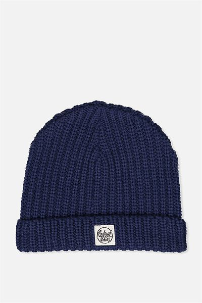 Winter Knit Beanie, FISHERMAN