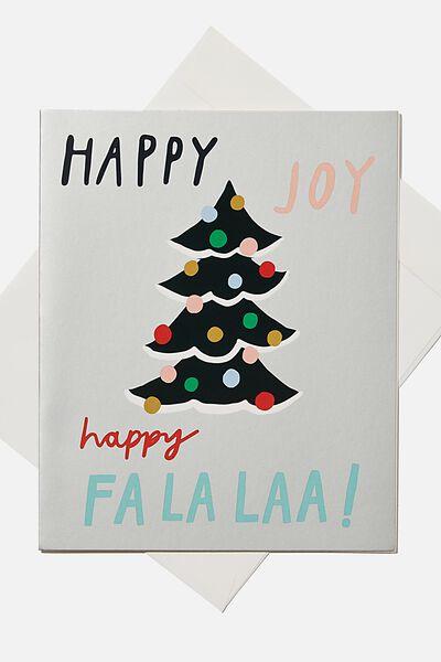 Christmas Gift Card, PEACE AND JOY