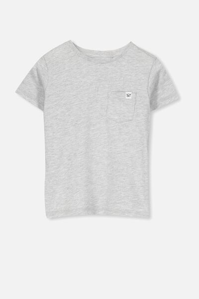 Core Short Sleeve Tee, LIGHT GREY MARLE