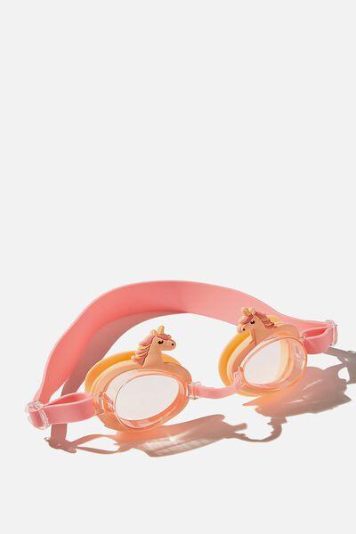 Fun Goggles, TROPICAL ORANGE UNICORN