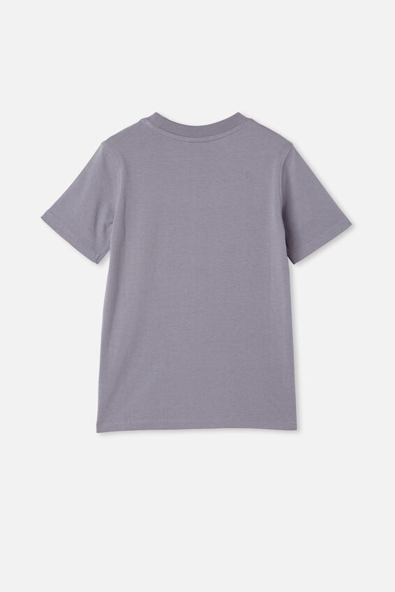 Co-Lab Short Sleeve Tee, LCN SMI STEEL / SMILEY