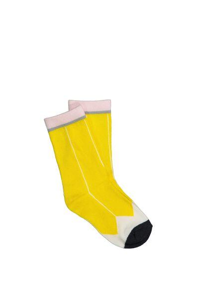 Fashion Kooky Socks, PENCIL