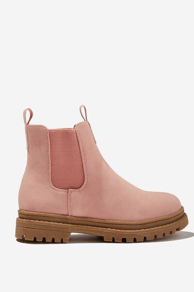 Pull On Gusset Boot, ZEPHYR