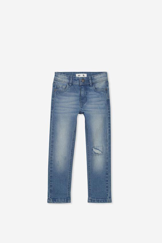 Ollie Slim Leg Jeans, MID DENIM