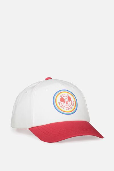 Licensed Baseball Cap, MICKEY/COLOUR BLOCK