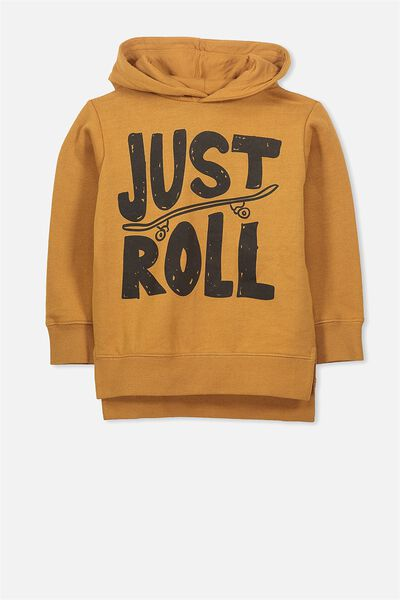 Liam Hoodie, BURNT BISCUIT/JUST ROLL