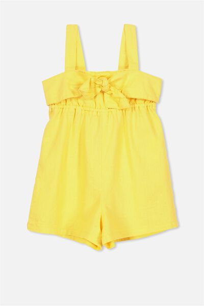 Zoe Playsuit, SUNSET GOLD