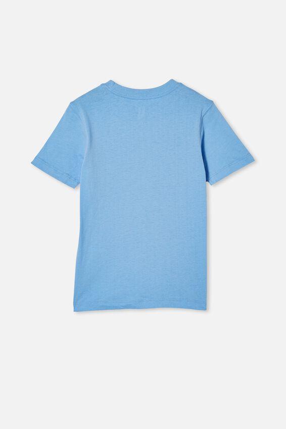 Max Skater Short Sleeve Tee, DUSK BLUE/SKATERS GONNA SKATE