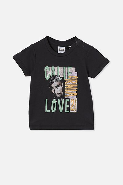 Jamie Short Sleeve Tee-License, LCN BR PHANTOM/TUPAC CALIFORNIA LOVE