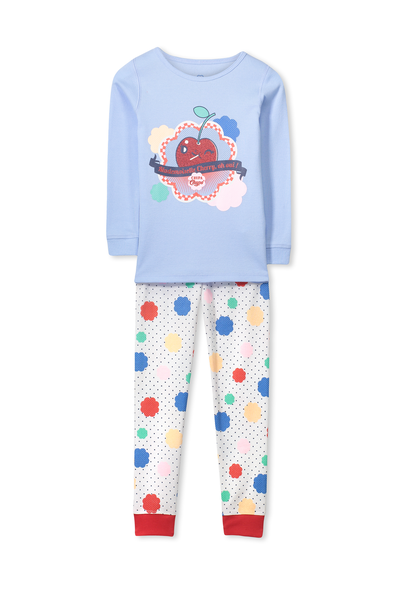 Kristen Long Sleeve Girls PJs, CHUPA CHUP LOLLIES