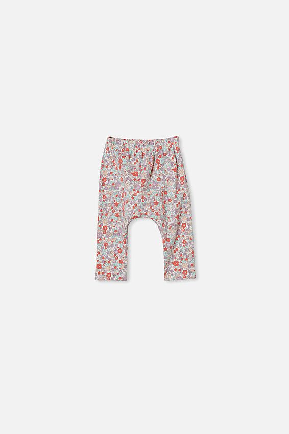 The Legging, VANILLA/GARDEN FLORAL