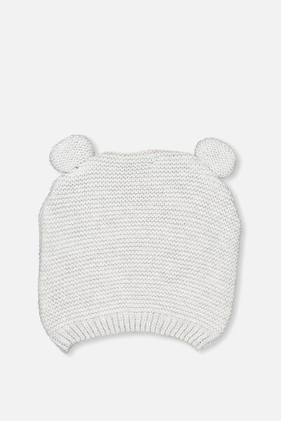 Baby Knit Beanie, BCI CLOUD MARLE