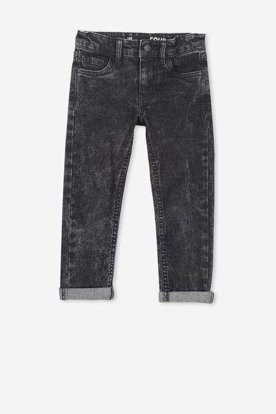Ollie Slim Leg Jean, MIDNIGHT BLACK WASH