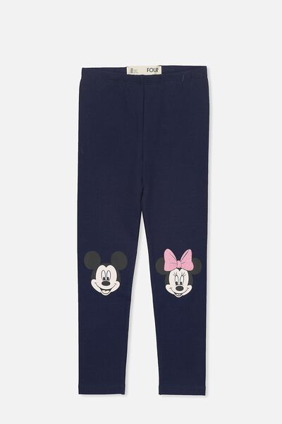 Huggie Tights, MINNIE MICKEY KNEES/PEACOAT