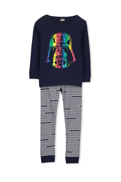 Dan Long Sleeve Boys PJs, STAR WARS RAINBOW PATROL