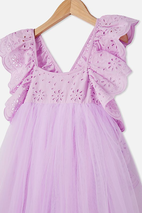 Isabell Dress Up Dress, PALE VIOLET