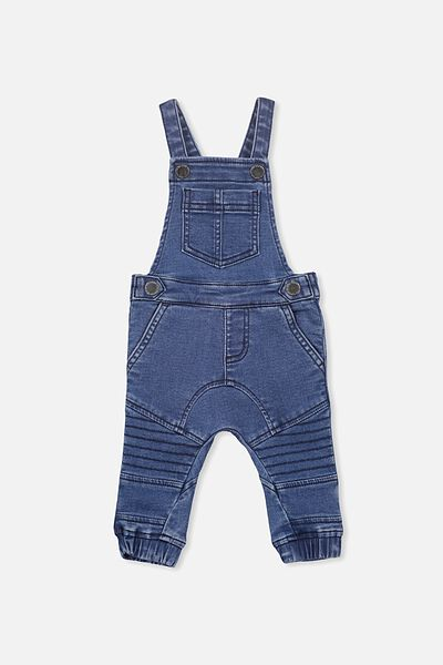 Billie Overall, MID BLUE