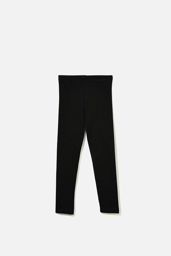 Huggie Leggings, BLACK