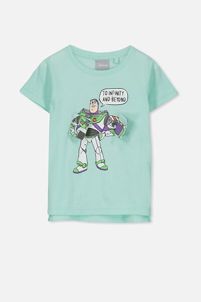 Short Sleeve License Tee, SEAGLASS/BUZZ