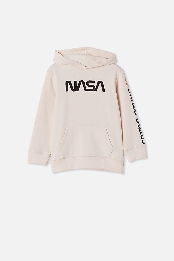 License Hoodie, LCN NASA/DARK VANILLA