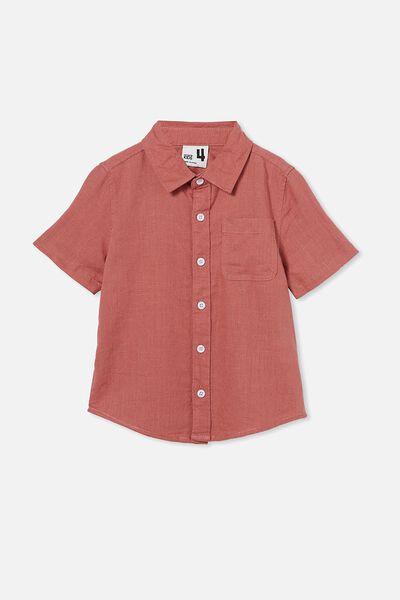 Resort Short Sleeve Shirt, CHUTNEY