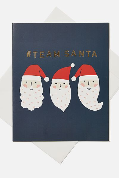 Christmas Gift Card, TEAM SANTA