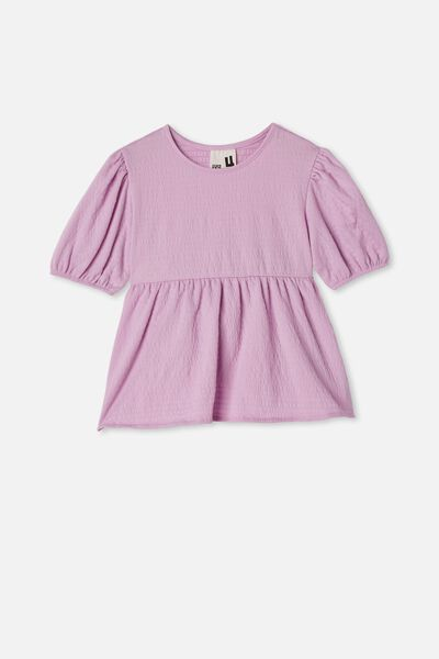 Carla Puff Sleeve Top, PALE VIOLET