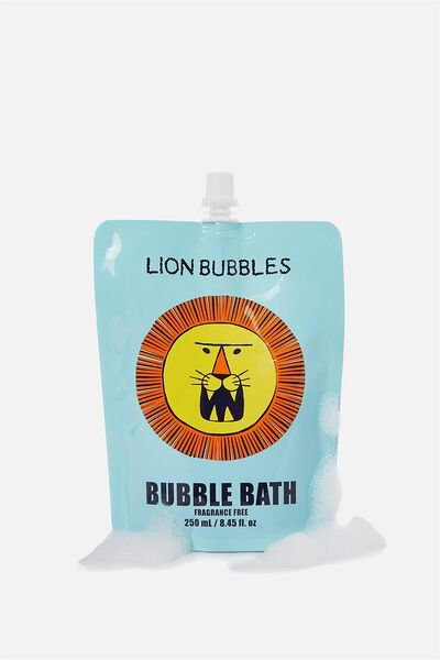 Bubble Bath, LION BUBBLES