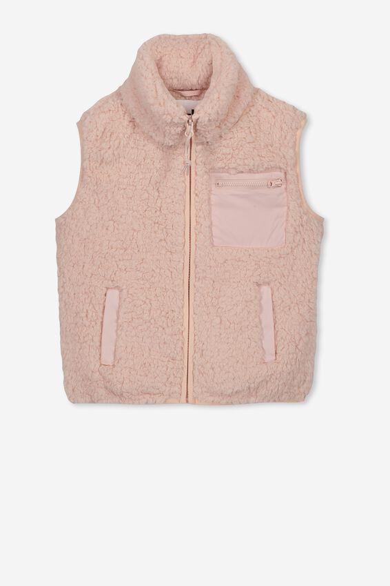 Freddy Teddy Vest, PEACH WHIP